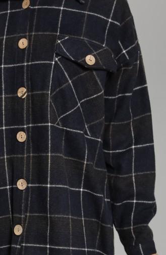 Navy Blue Shirt 8130B-02