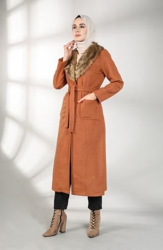 Fur Cachet Coat 5590-02 Tobacco 5590-02