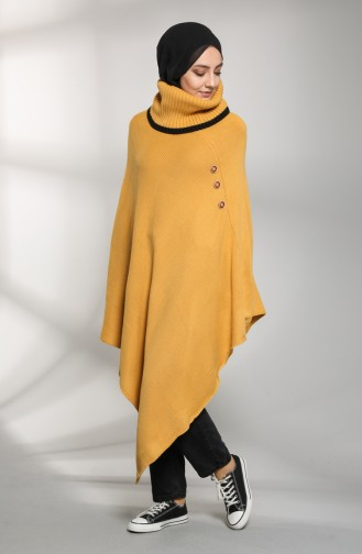 Mustard Poncho 9K6917700-01