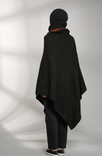 Ponchos Noir 9K6917700-02