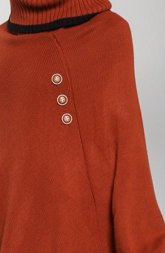 Ponchos Couleur brique 9K6917700-03
