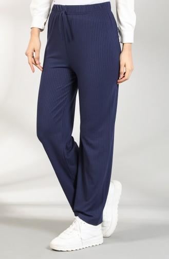 Pantalon Bleu Marine 8140-01