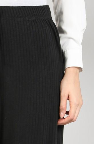 Pantalon Noir 8140-03