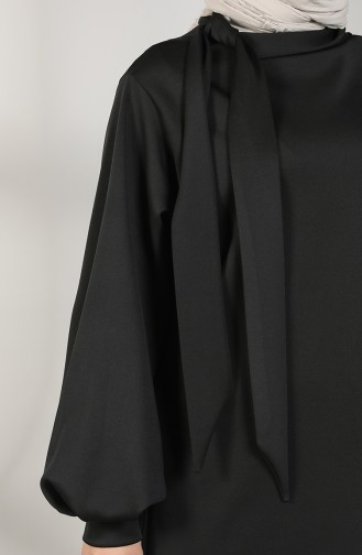 Scuba Fabric Tunic Trousers Double Suit 21004-04 Black 21004-04