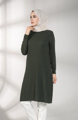 Knitwear Tunic 4216-04 Khaki 4216-04