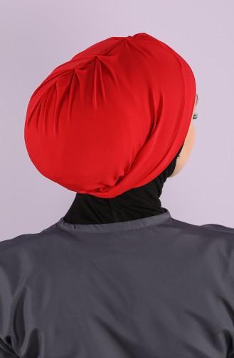 Rot Schwimmmütze Bonnet 26064-07