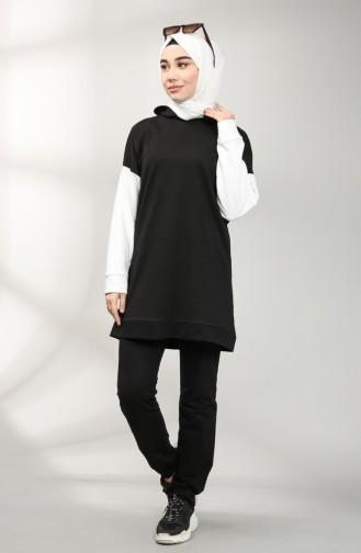 Black Sweatsuit 20077-05