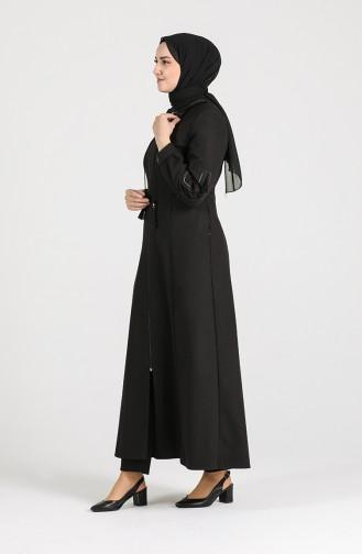 Black Abaya 8030-01