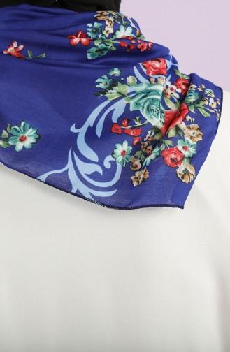 Saxon blue Foulard 61794-01