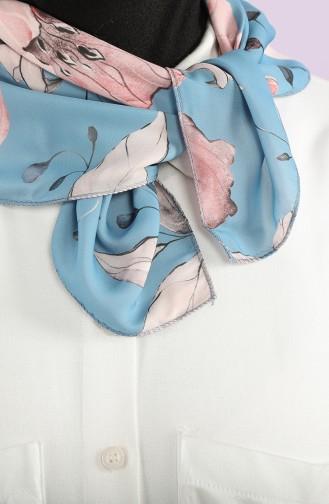 Blue Scarf 61817-01