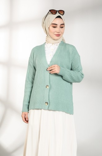 Mint green Cardigan 0593-04