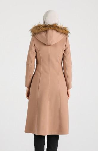 معطف طويل بيج 1017-05