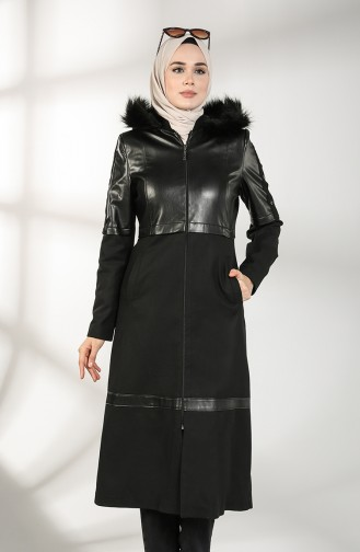 Black Long Coat 4603-01