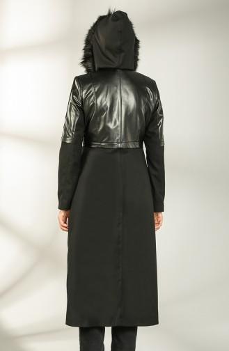 Schwarz Mantel 4603-01