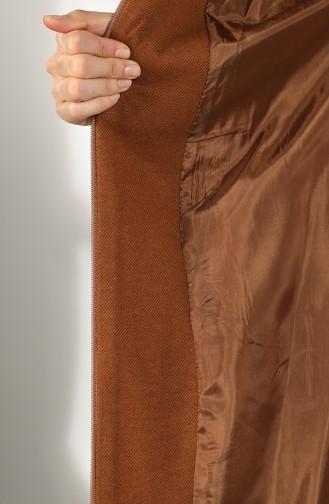 Tobacco Brown Lange Jas 4603-02