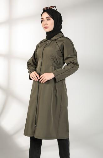 معطف كاكي 2086-02