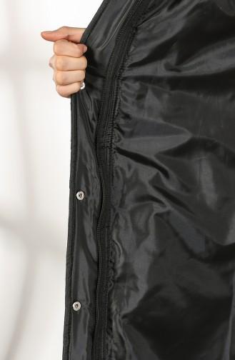 Schwarz Mantel 5042-05