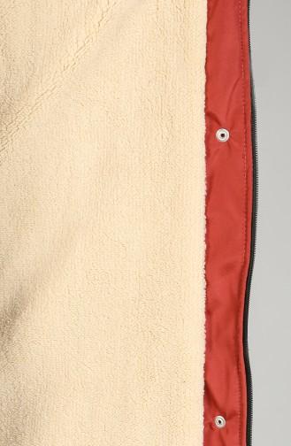 Hooded Long Coat 9059-06 Tile 9059-06