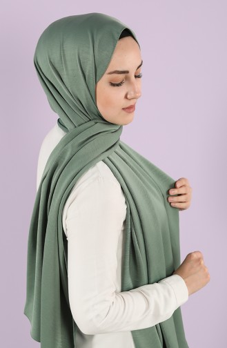 Green Almond Shawl 1417-08