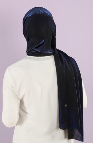 Saxon blue Sjaal 0757-04