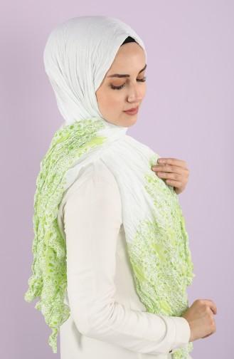 شال أخضر حشيشي 7515-02