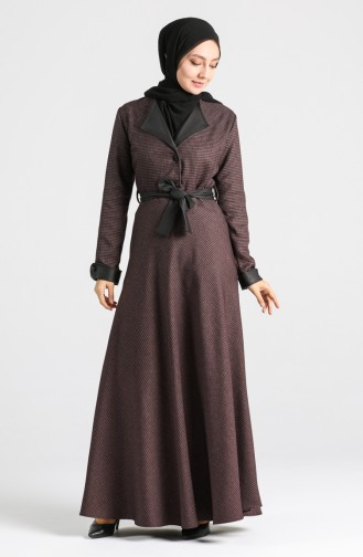 Belted Dress 4333-02 Dried Rose 4333-02