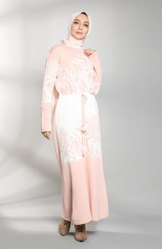 فستان باودر 5093-04