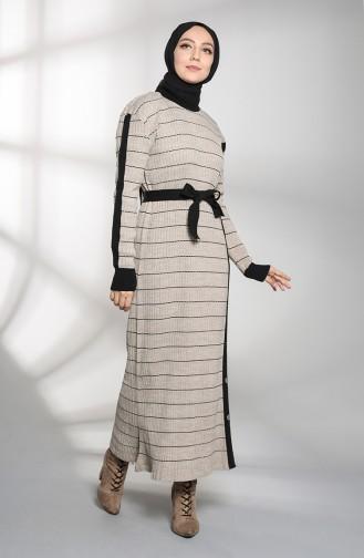 Robe Hijab Noir 8209-04