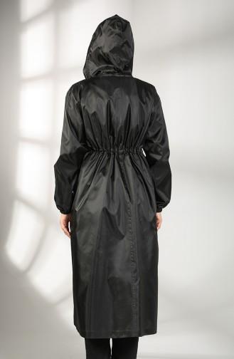 Trench Coat Noir 2050-03