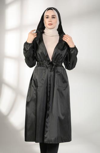 Trench Coat Noir 2051-03