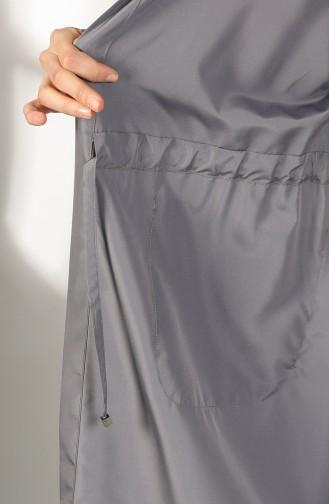 Gray Trench Coats Models 2051-04