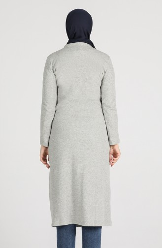 Knitwear Long Tunic 2095-01 Gray 2095-01