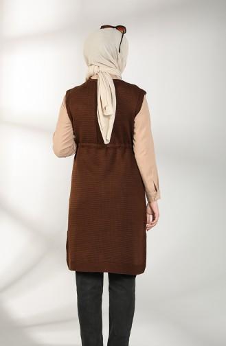 Brown Gilet 4130-12