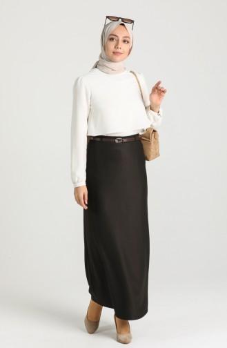 Brown Skirt 2224-01