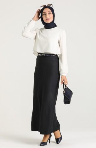 Navy Blue Skirt 2224-02
