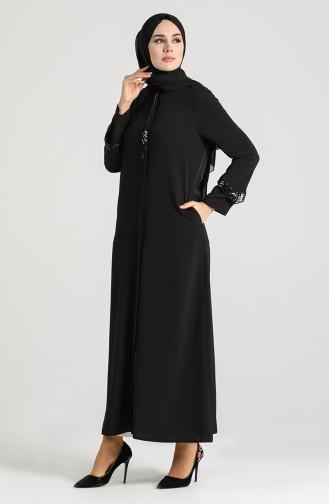 Black Abaya 150002-01