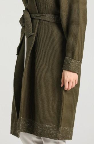 Khaki Cardigans 9K6915000-02