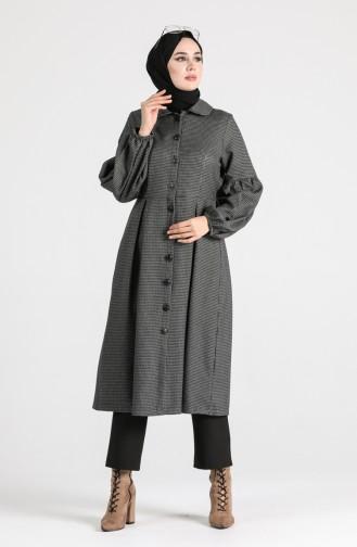 Grau Mantel 1111-03