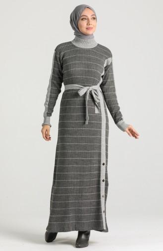 Robe Hijab Gris 8209-05