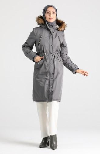 Gray Winter Coat 6007-05