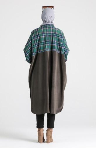 Green Poncho 9020A-01