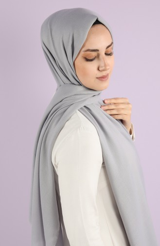 Silver Gray Shawl 15219-16