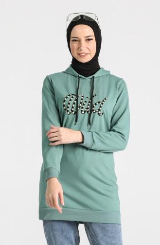قميص رياضي أخضر 0722-07