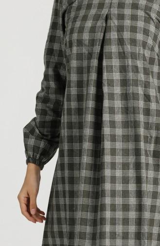 فستان كاكي 1435-01