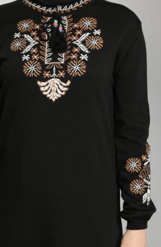 Robe Hijab Noir 2312-03