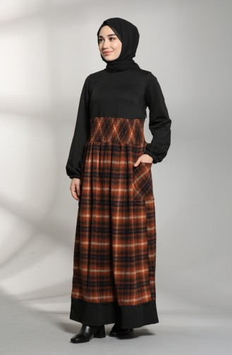Garnish Winter Dress 21k8148-02 Black Tile 21K8148-02
