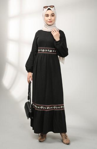 فستان أسود 21K8159-05