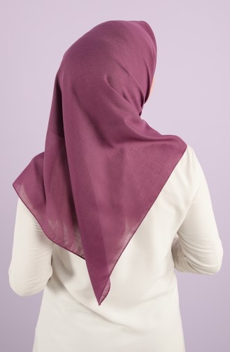 Plain Cotton Scarf 13010-09-p Purple 13010-09-P