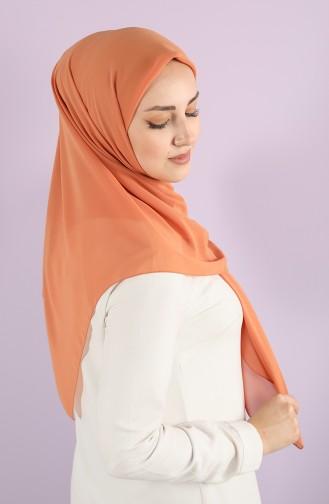 Karaca Nano Crepe Scarf 90717-22 Orange 90717-22