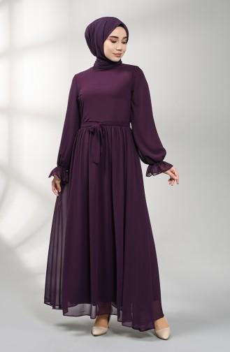 فستان الأرجواني الداكن 5134-07